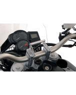 GPS Anbauadapter BMW F650GS(Twin)/F700GS/F800GS/F800GS Adventure auf Lenkerklemmung Anbauadapter / GPS-Halter / Navi-Halter Navigationsgerätehalter