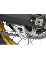 Kettenschutzfinne, alu natur eloxiert, für Honda CRF 1000L Africa Twin/ CRF1000L Adventure Sports