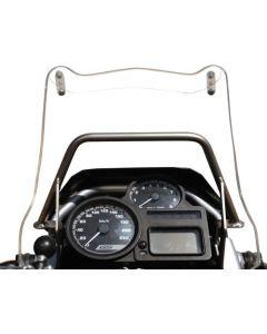 GPS-Anbauadapter Rohrbügel über Instrumente, BMW R1200GS Anbauadapter / GPS-Halter / Navi-Halter Navigationsgerätehalter