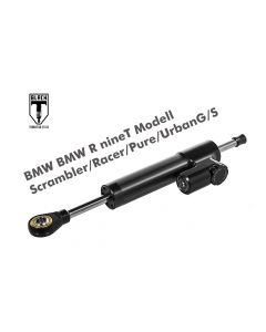 BLACK-T Lenkungsdämpfer *CSC* für BMW RnineT Modell Scrambler/Racer/Pure/UrbanG/S ab 2016 +incl. Anbausatz+