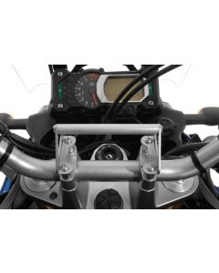 GPS Anbauadapter Lenkerklemmung für Yamaha XT1200Z Super Tenere bis 2013Anbauadapter / GPS-Halter / Navi-Halter Navigationsgerätehalter
