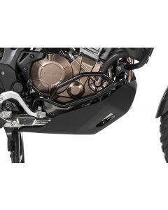 Aktionsbundle 3 schwarz: Motorschutz *RALLYE* + Motorsturzbügel + Sturzbügel für Honda CRF1000L Africa Twin