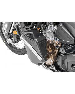 Werkzeugbox mit Motorsturzbügel NO DCT - komplett - Edelstahl für Honda CRF1100L Africa Twin / CRF1100L Adventure Sports
