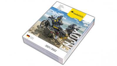 Touratech Katalog 2021 ab Ende März verfügbar